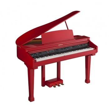 438PIA0635 Grand 120 Цифровой рояль, с автоаккомпанементом, красный - Orla