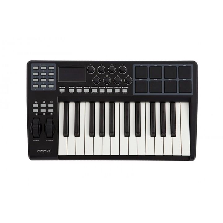 Panda-25C MIDI-контроллер, клавиатура 25 клавиш - LAudio