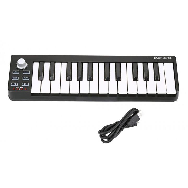 EasyKey MIDI-контроллер, 25 клавиш - LAudio