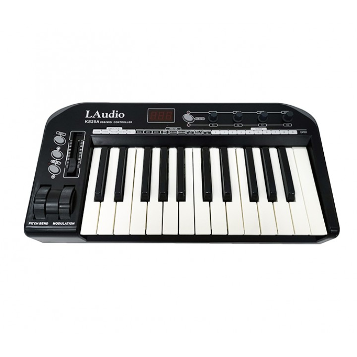 KS-25A MIDI-контроллер, миди-клавиатура, 25 клавиш - LAudio