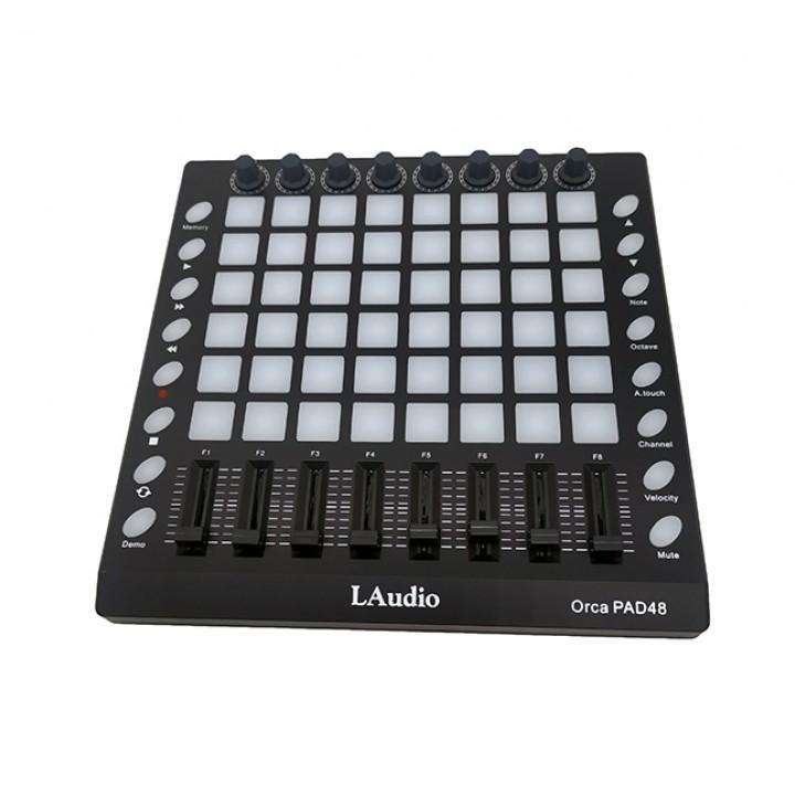 Orca-Pad48 MIDI пэд-контроллер, 48 пэдов - Laudio