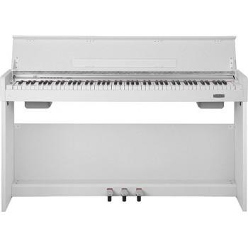 WK-310-White Цифровое пианино на стойке с педалями, белое - Nux Cherub