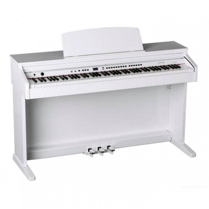 438PIA0706 Цифровое пианино белое полированное Orla - CDP 101 (438PIA0706)