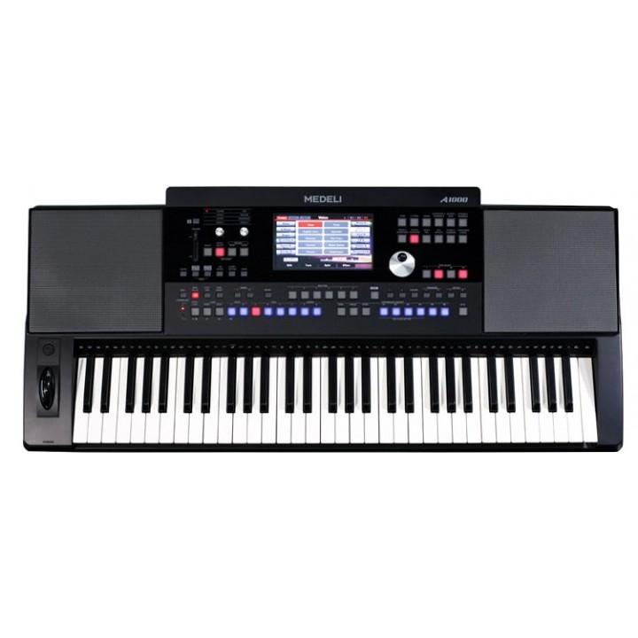 A1000 Синтезатор аранжировочная рабочая станция, 61 клавиша - Medeli