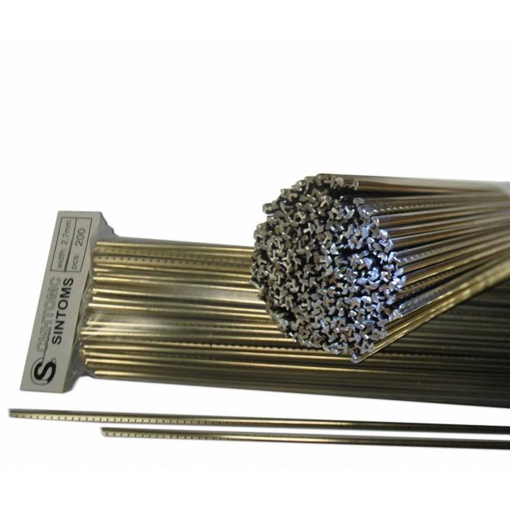 Ладовая пластина из нейзильбера, ширина 2,5мм, фабричная упаковка Sintoms (249119F)