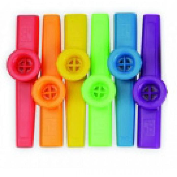 KA-1 Казу цветной - красный, оранжевый, желтый, зеленый, синий, фиолетовый - DADI