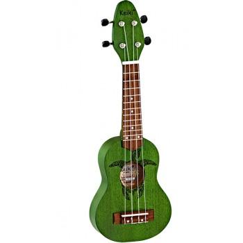 K1-GR Keiki Укулеле сопранино, зеленый - Ortega