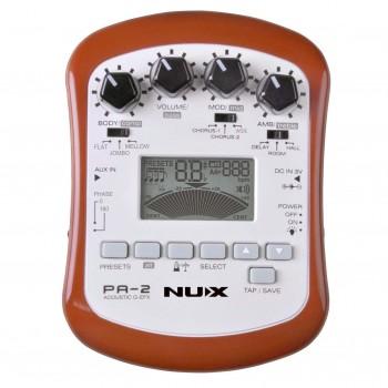 Портативный процессор для акустической гитары - Nux Cherub - PA-2