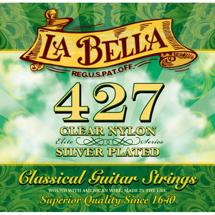 427 Elite комплект струн для классической гитары - La Bella
