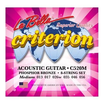 C520M Струны для акустической гитары - La Bella C520M 13-56