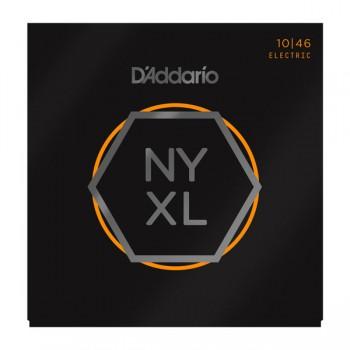 NYXL1046 NYXL Комплект струн для электрогитары, никелированные - D'Addario (10-46)