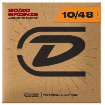 DAB1048 Комплект струн для акустической гитары бронза 80/20 - Dunlop