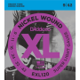 EXL120 XL Струны для электрогитары - D`Addario (9-42)