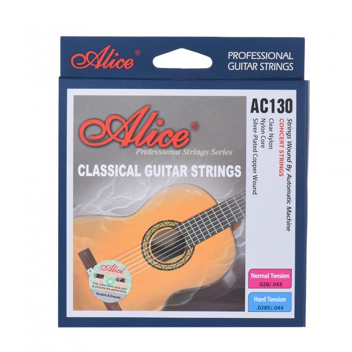 AC130-H Набор струн для классической гитары - ALICE