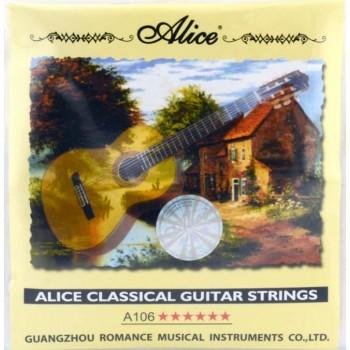 A106-1 Струна гитарная №1 нейлон - Alice