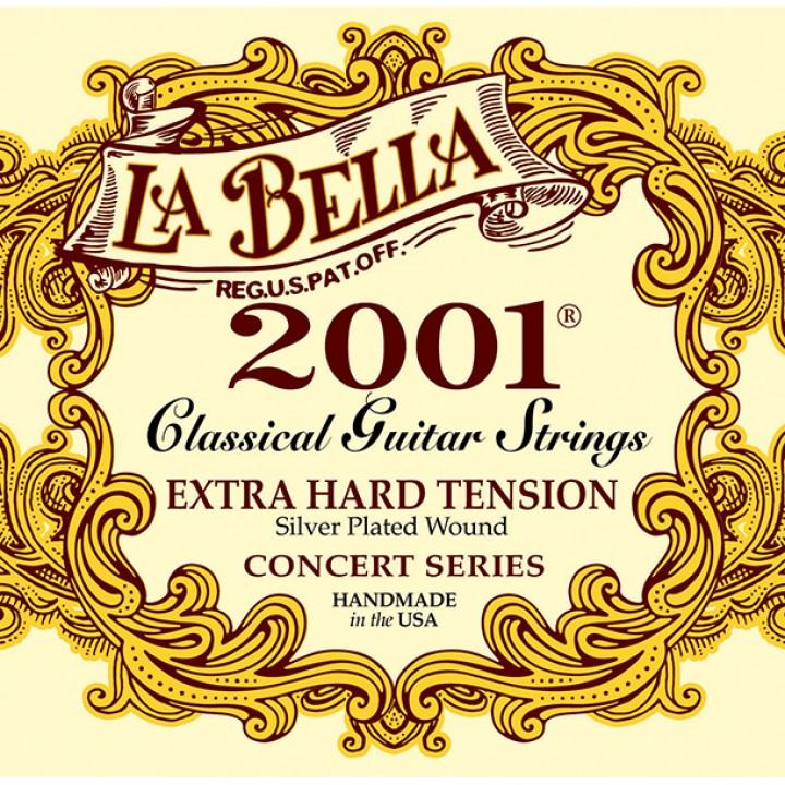 2001EH 2001 Extra Hard Комплект струн для классической гитары - La Bella