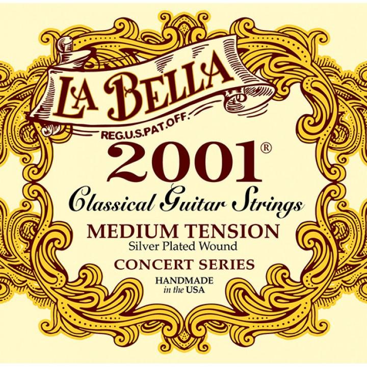 2001M 2001 Medium Комплект струн для классической гитары - La Bella