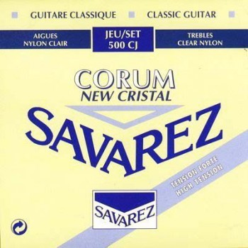 500CJ New Cristal Corum Комплект струн для классической гитары - Savarez