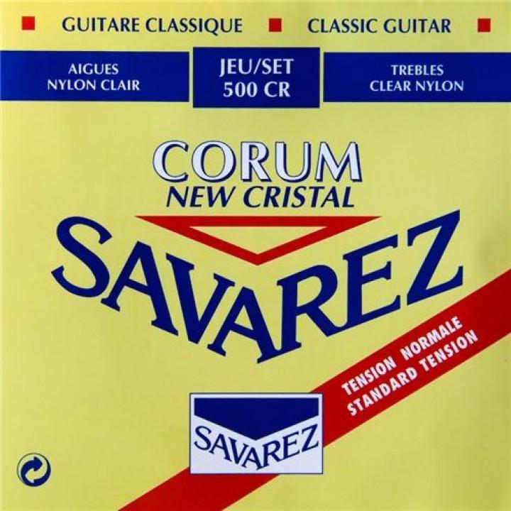 500CR New Cristal Corum Комплект струн для классической гитары - Savarez
