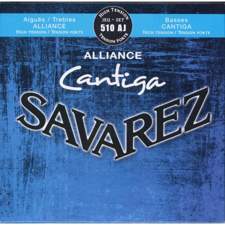 510AJ Alliance Cantiga Комплект струн для классической гитары - Savarez