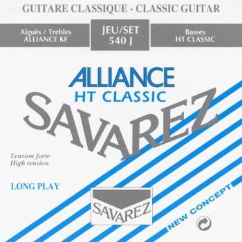 540J Alliance HT Classic Комплект струн для классической гитары - Savarez