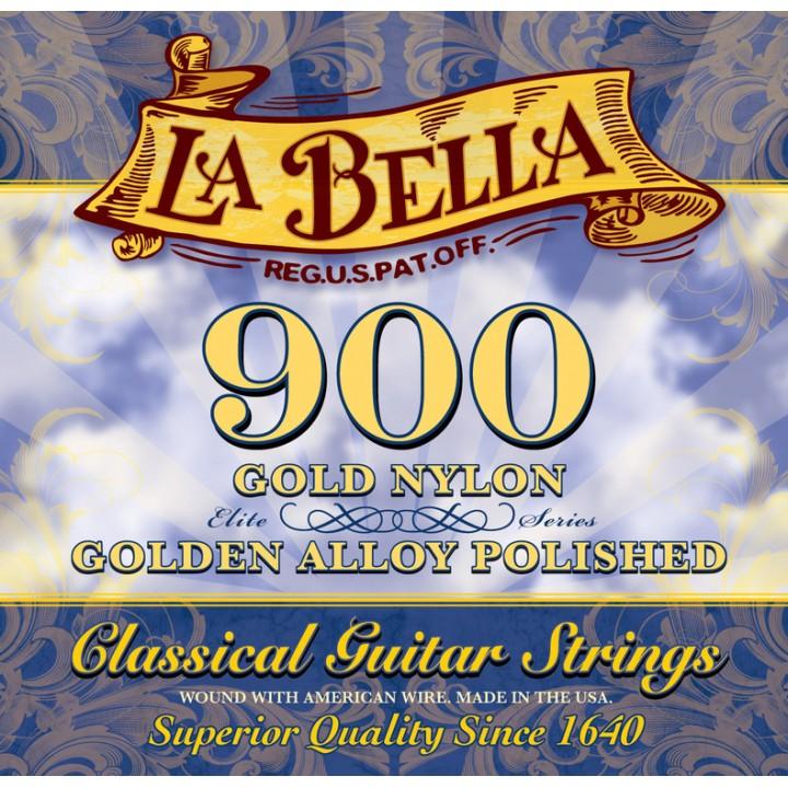 900 Комплект струн для классической гитары - La Bella