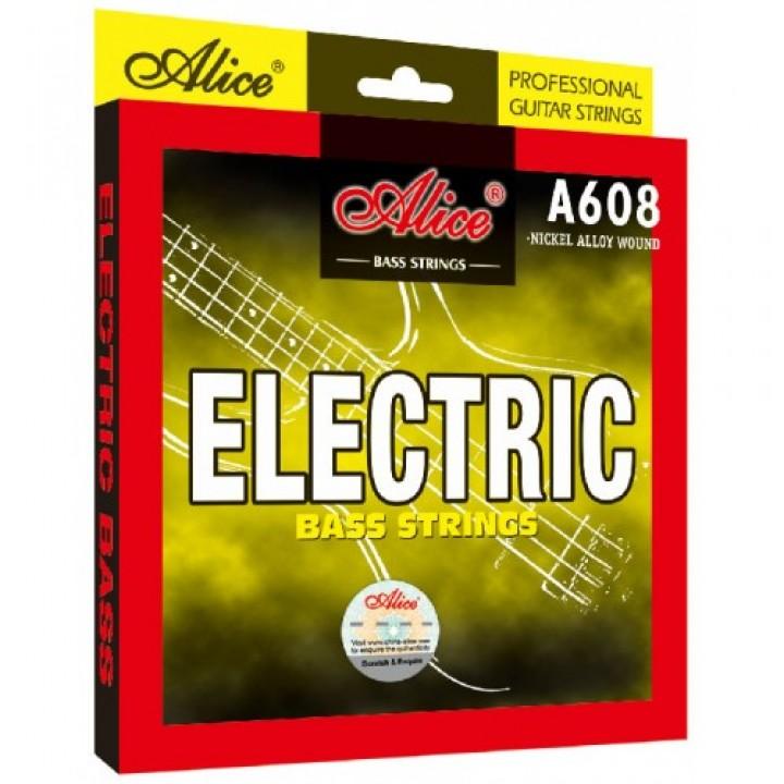 A608(5)-M Medium Комплект струн для 5-струнной бас-гитары, 045-130 - Alice
