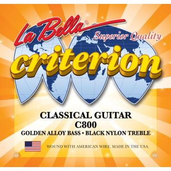 C800 Criterion Комплект струн для классической гитары - La Bella