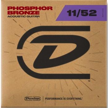 DAP1152 Комплект струн для акустической гитары, фосф.бронза - Dunlop