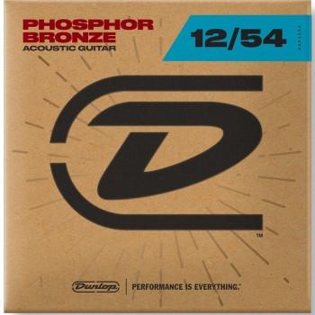 DAP1254 Комплект струн для акустической гитары, фосф.бронза - Dunlop