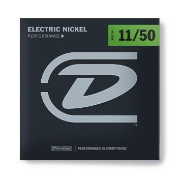 DEN1150 Комплект струн для электрогитары, никелированные 11-50 - Dunlop
