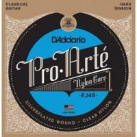 EJ46 Hard Струны для классической гитары - D'ADDARIO