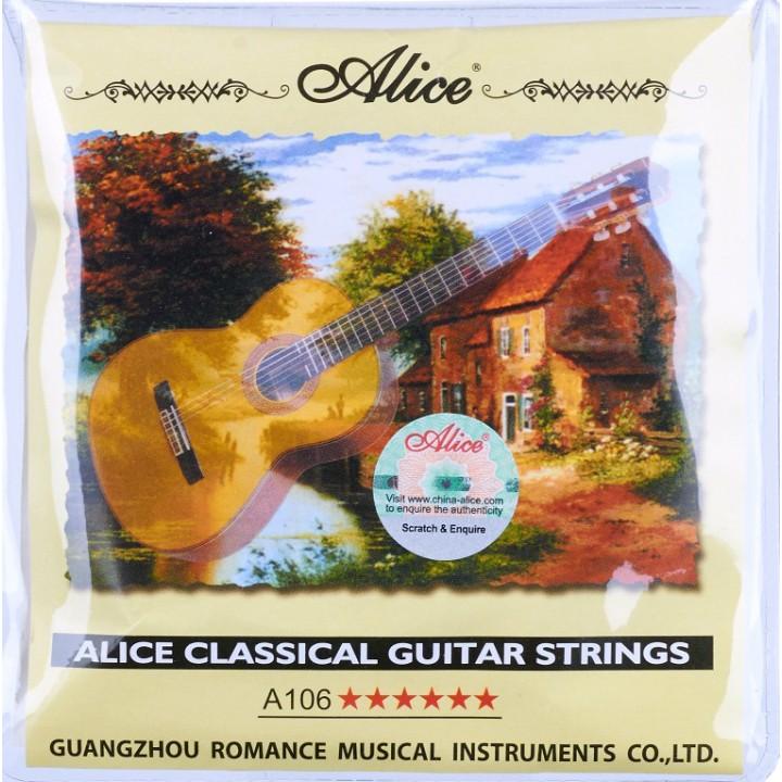 A106-H Набор струн для классической гитары - Alice
