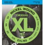 EXL165 XL NICKEL WOUND Струны для бас-гитары 45-105 - D`Addario