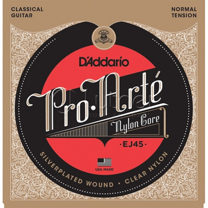 EJ45 Струны для классической гитары - D'ADDARIO