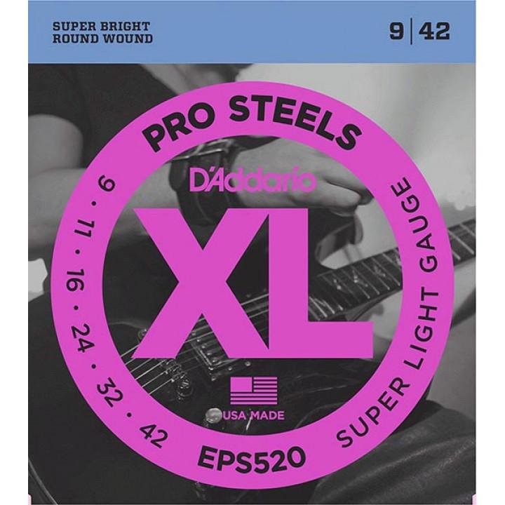 EPS520 XL Струны для электрогитары - D`Addario (9-42)