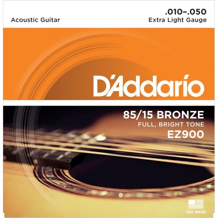 EZ900 Струны для акустической гитары - D'ADDARIO