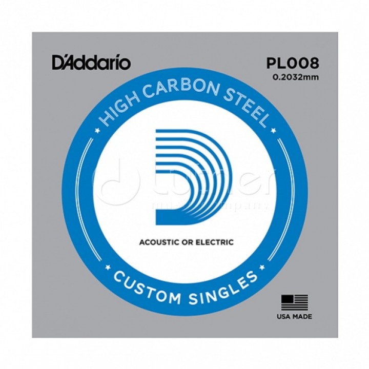 PL008 Одиночная струна - D'ADDARIO
