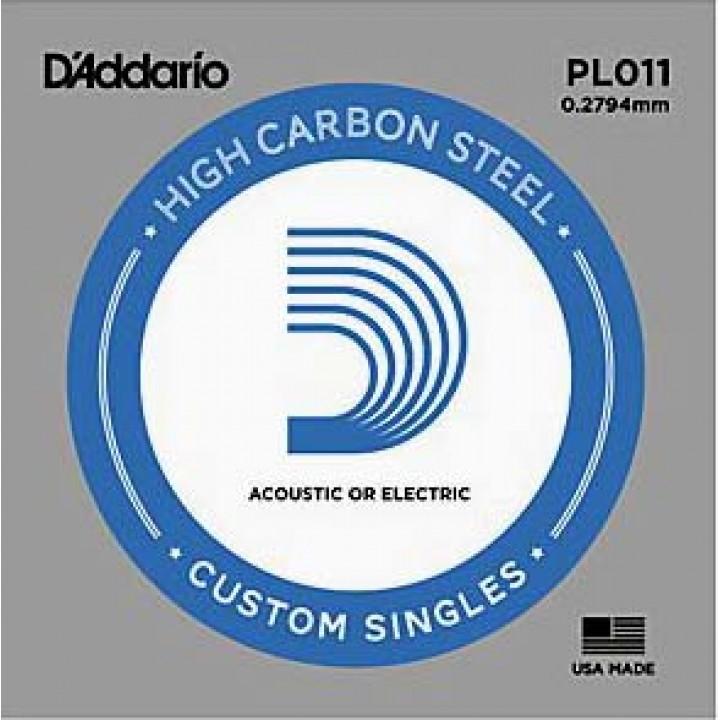 PL011 Одиночная струна - D'ADDARIO