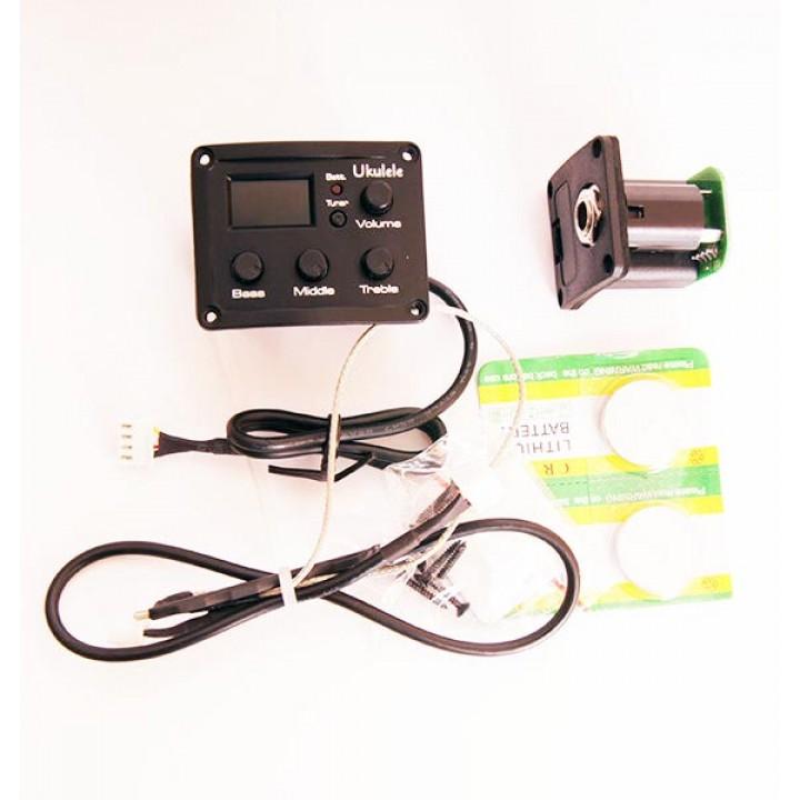 UK-600T Эквалайзер со звукоснимателем для укулеле - Alice