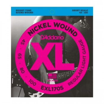 EXL170S Nickel Wound Комплект струн для бас-гитары - D'Addario
