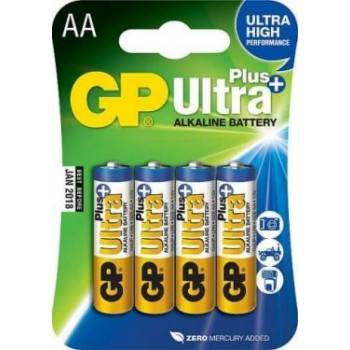 GP15AUP-2CR4 Ultra Plus Элемент питания АА алкалиновый - GP, 4шт