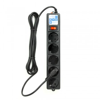 SPG-B-6-BLACK Фильтр-удлинитель 1.9 м  - PowerCube