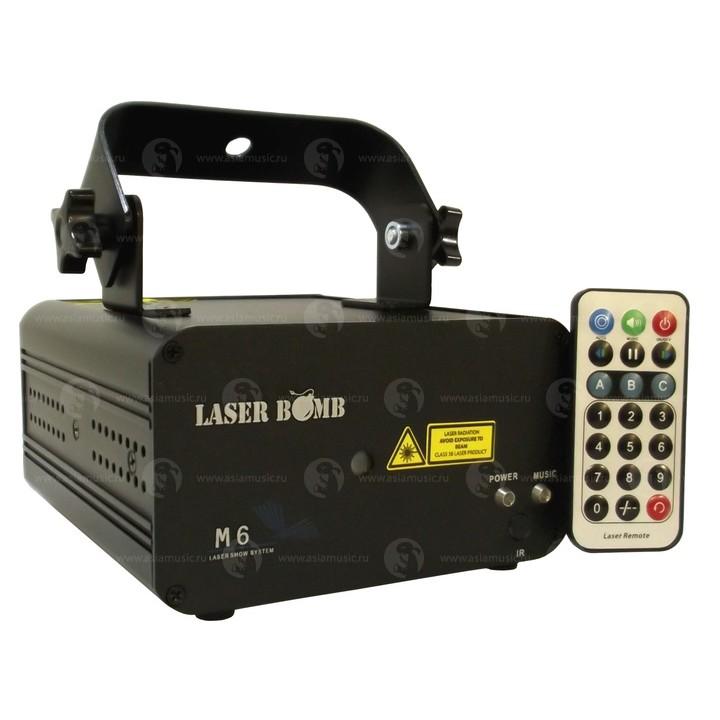 M6 Лазер дискотечный - LASER BOMB