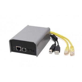 SL-EDEC43 DUO LAN-NODE 1024 Контроллер управления световым оборудованием - Siberian Lighting
