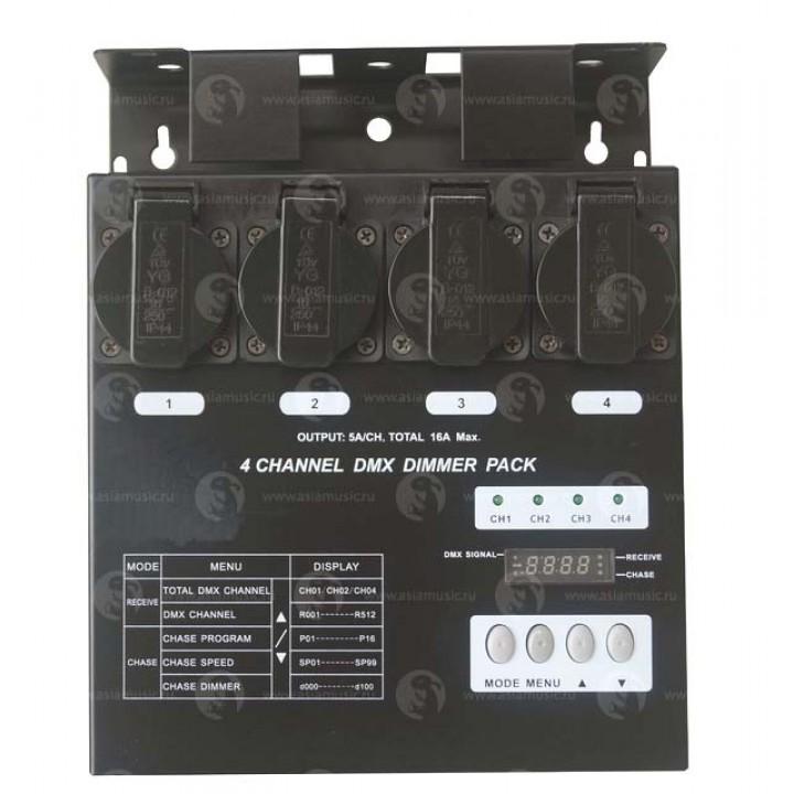 Компактный диммерный блок - EURO DJ Dimmer Pack 4