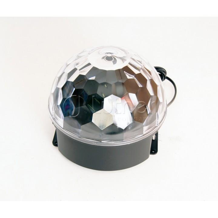 ML002 Светодиодный эффект «диско-шар» - Bi Ray (6х1Вт)