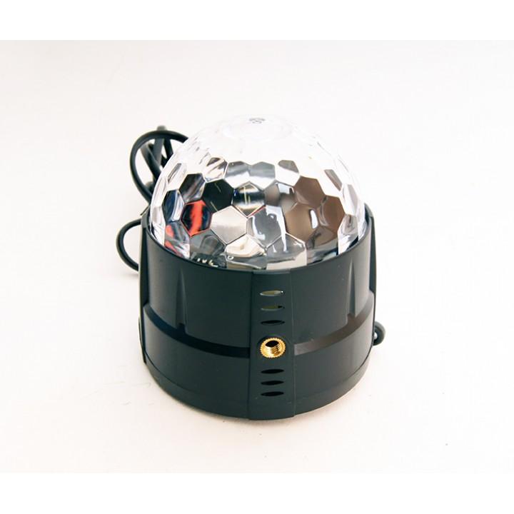 MM001 Светодиодный эффект «диско-шар» мини, 3х1Вт - Bi Ray