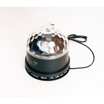 MM010 Светодиодный эффект «диско-шар» средний - Bi Ray(6х1Вт)