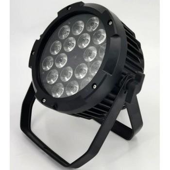 PL018W Светодиодный прожектор смены цвета (колорчэнджер), 18х8Вт - Bi Ray